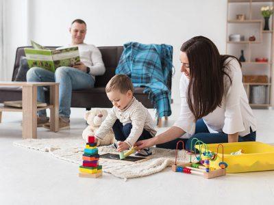 Aprendiendo a estar con los niños en el hogar en tiempos de cuarentena