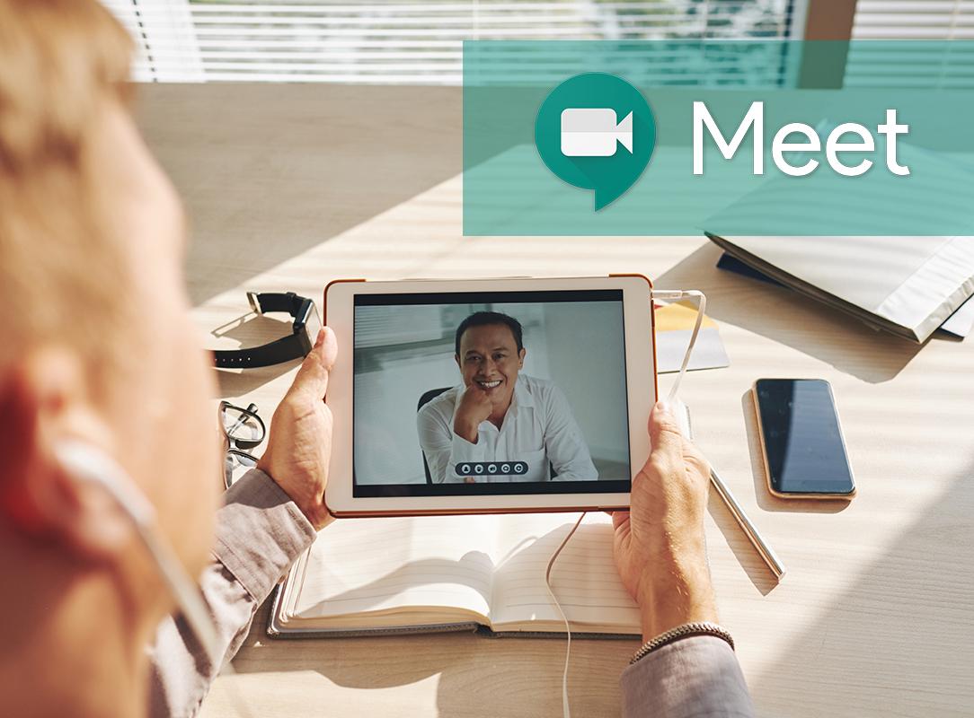 Cómo coordinar una reunión virtual con Google Meet